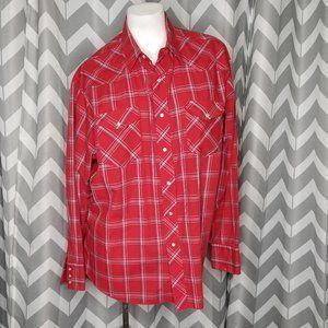WRANGLER Western Shirts flannel shirt